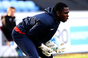 Coventry City Goalkeeper Reice Charles-Cook during the Sky Bet League 1 match between Coventry City and Rochdale at the Ricoh Arena, Coventry, England on 5 March 2016. Photo by Chris Wynne.