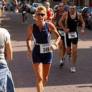 Kwart triathlon van Weesp 2004, Nannie van Toorenburg