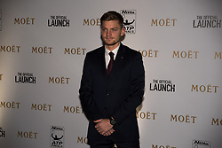 November 9, 2017 - London, England, United Kingdom - David Goffin of Belgium arrives at The Official Launch for ATP Finals, held at the Tower of London prior to the start of ATP World Tour Finals Tennis at O2 Arena, London on November 9, 2017. (Credit Image: © Alberto Pezzali/NurPhoto via ZUMA Press)