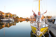 Keith and Leah onboard TIENTOS. Editorial. Writer Kerry Sharpe. Photo Shane Eecen