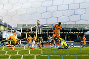 Sheffield Wednesday forward, on loan from Norwich City, Gary Hooper scores fourth goal during the Sky Bet Championship match between Sheffield Wednesday and Wolverhampton Wanderers at Hillsborough, Sheffield, England on 20 December 2015. Photo by Simon Davies.