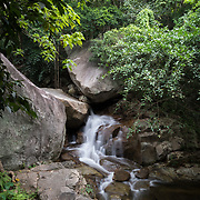 Huay Yang Waterfall,  in Huay Yang national park, Thailand. First level of 5.