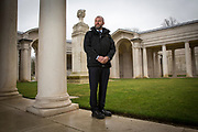 Steve Arnold, <br /> Hort Technical Manager<br />  Commonwealth War Graves Commission, Faubourg D'Amiens cemetery. Arras, France. (photo by Andrew Aitchison /PCS)