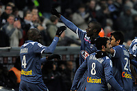 FOOTBALL - FRENCH CHAMPIONSHIP 2010/2011 - L1 - GIRONDINS BORDEAUX v OGC NICE - 30/01/2011 - PHOTO JULIEN CROSNIER / DPPI - JOY LUDOVIC SANE (BDX)
