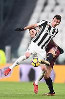 Mario Mandzukic Juventus, Nicolas Burdisso Torino <br /> Torino 03-01-2018 Allianz Stadium Calcio Coppa Italia Quarti di Finale Juventus - Torino foto Image Sport/Insidefoto