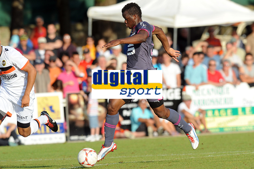 FOOTBALL - FRIENDLY GAMES 2012/2013 - STADE RENNAIS v FC LORIENT - 21/07/2011 - PHOTO PASCAL ALLEE / DPPI - FANTAMADY DIARRA (RENNES)