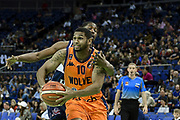 Ashton Khan of Worcester Wolves during the Betway British Basketball All-Stars Championship at the O2 Arena, London, United Kingdom on 24 September 2017. Photo by Martin Cole.