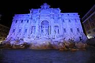 20171023 - le fontane di Roma si tingono di blu