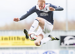Falkirk's Mark Beck.<br /> Falkirk 5 v 0 Cowdenbeath, Scottish Championship game played today at The Falkirk Stadium.<br /> &copy; Michael Schofield.