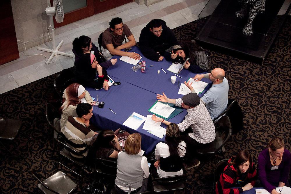 Le lancement de Clip ton 514; une projet des Forum jeunesse de l'ile de Montréal et CRÉ de Montrál. En partenairiat avec Parole Citoyenne, Citizen Shift, Fusion Jeunesse - Youth Fusion, Vues D'Afrique et CBC. Le 9 Mars, 2010.