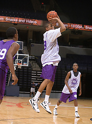 2G J. T. Terrell (Burlington, NC / Cummings).  The NBA Player's Association held their annual Top 100 basketball camp at the John Paul Jones Arena on the Grounds of the University of Virginia in Charlottesville, VA on June 18, 2008