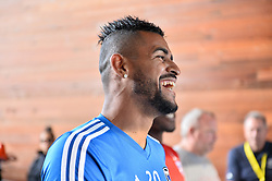 August 29, 2018 - San Jose, California, United States - San Jose, CA - Wednesday August 29, 2018: Anibal Godoy prior to a Major League Soccer (MLS) match between the San Jose Earthquakes and FC Dallas at Avaya Stadium. (Credit Image: © John Todd/ISIPhotos via ZUMA Wire)