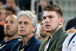 Luka Doncic during basketball match between Slovenia and Spain in Round #5 of FIBA Basketball World Cup 2019 European Qualifiers, on June 28, 2018 in SRC Stozice, Ljubljana, Slovenia. Photo by Urban Urbanc / Sportida