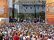 The Stars perform at the Austin City Limits Music Festival, Austin Texas, September 28 2008.