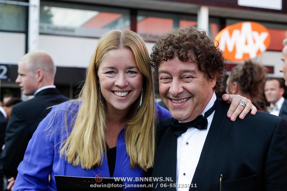 NLD/Hilversum/20120903 - Telesport Voetbalgala 2012, David Endt en partner