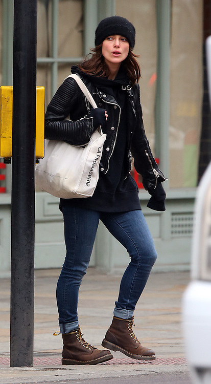 keira knightley out and about in west london gotcha images