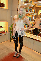 PIPPA VOSPER at the Roger Vivier 'The Perfect Pair' Frieze cocktail party celebrating Ambra Medda & 'Miss Viv' at the Roger Vivier Boutique, Sloane Street, London on 15th October 2014.