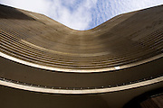 Sao Paulo_SP, Brasil...Edificio Copan em Sao Paulo, importante simbolo da arquitetura moderna brasileira, projetado por Oscar Niemeyer...The Copan building in Sao Paulo, the Brazilian modern architecture symbol, it was designed by architect Oscar Niemeyer...Foto: MARCUS DESIMONI / NITRO