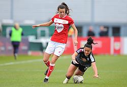 Mayumi Pacheco of Reading Women is fouled by Rosella Ayane of Bristol City- Mandatory by-line: Nizaam Jones/JMP- 31/03/2019 - FOOTBALL - Stoke Gifford Stadium - Bristol, England - Bristol City Women v Reading Women - FA Women's Super League 1
