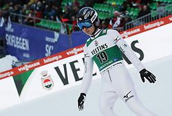 03.02.2017, Heini Klopfer Skiflugschanze, Oberstdorf, GER, FIS Weltcup Ski Sprung, Oberstdorf, Skifliegen, im Bild Kento Sakuyama (JPN) // Kento Sakuyama (JPN) during mens FIS Ski Flying World Cup at the Heini Klopfer Skiflugschanze in Oberstdorf, Germany on 2017/02/03. EXPA Pictures © 2017, PhotoCredit: EXPA/ Sammy Minkoff<br /> <br /> *****ATTENTION - OUT of GER*****