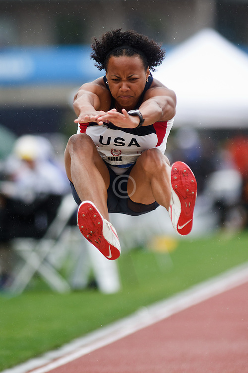 Olympic Trials Eugene 2012: Heptathlon long jump, Hill