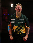 Simon Whitlock during the World Matchplay Darts 2019 at Winter Gardens, Blackpool, United Kingdom on 23 July 2019.