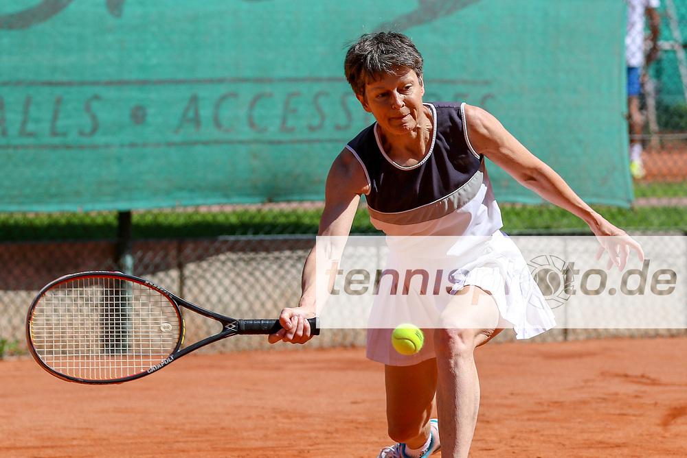 Susanne Boesser (TC 1899 Blau-Weiss Berlin), 16. Grün-Weiß Nikolassee Seniorenturnier, Berlin, 21.05.2018, Foto: Claudio Gärtner