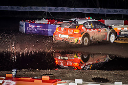 October 26, 2017 - Deeside, Wales, United Kingdom - 8 Craig Breen (IRL) and co-driver Scott Martin (GBR) of CitroÃ«n World Rally Team compete in the Tir Prince Special Stage, Wales of the Rally GB round of the 2017 FIA World Rally Championship. (Credit Image: © Hugh Peterswald/Pacific Press via ZUMA Wire)
