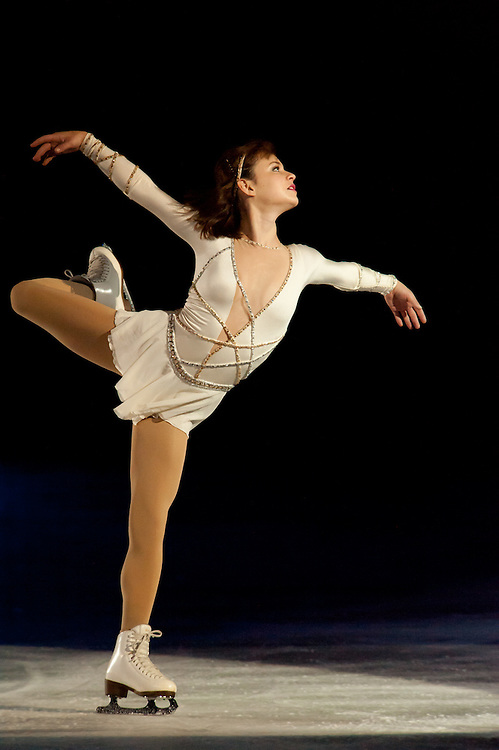 Sasha Cohen at the Sun Valley summer Ice Show. Many other headliner photos available