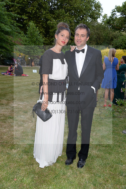 BEN GOLDSMITH and JEMIMA JONES at The Animal Ball in aid of The Elephant Family held at Lancaster House, London on 9th July 2013.