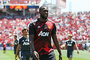 Manchester United Forward Romelu Lukaku during the AON Tour 2017 match between Real Madrid and Manchester United at the Levi's Stadium, Santa Clara, USA on 23 July 2017.