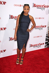 """Bresha Webb, at the """"Barbershop The Next Cut"""" Premiere, TCL Chinese Theater, Hollywood, CA 04-06-16. EXPA Pictures © 2016, PhotoCredit: EXPA/ Photoshot/ Martin Sloan<br /> <br /> *****ATTENTION - for AUT, SLO, CRO, SRB, BIH, MAZ, SUI only*****"""