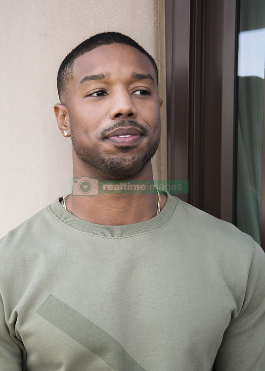 January 30, 2018 - Hollywood, CA, USA - Michael B. Jordan stars in the movie Black Panther (Disney) Marvel (Credit Image: © Armando Gallo via ZUMA Studio)