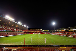 NOTTINGHAM, ENGLAND - Thursday, February 4, 2016: A general view of Nottingham Forest's City Ground ahead of the FA Youth Cup 5th Round match against Liverpool. (Pic by David Rawcliffe/Propaganda)