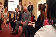 Auckland-Royals, Prince Charles visits Nga Rangatahi Toa