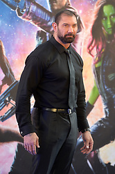 Image ©Licensed to i-Images Picture Agency. 24/07/2014. London, United Kingdom. <br /> <br /> Pictured is actor David Bautista<br /> <br /> Guardian's of the Galaxy film premiere at Leicester Square, London, UK.<br /> <br /> Picture by Ben Stevens / i-Images