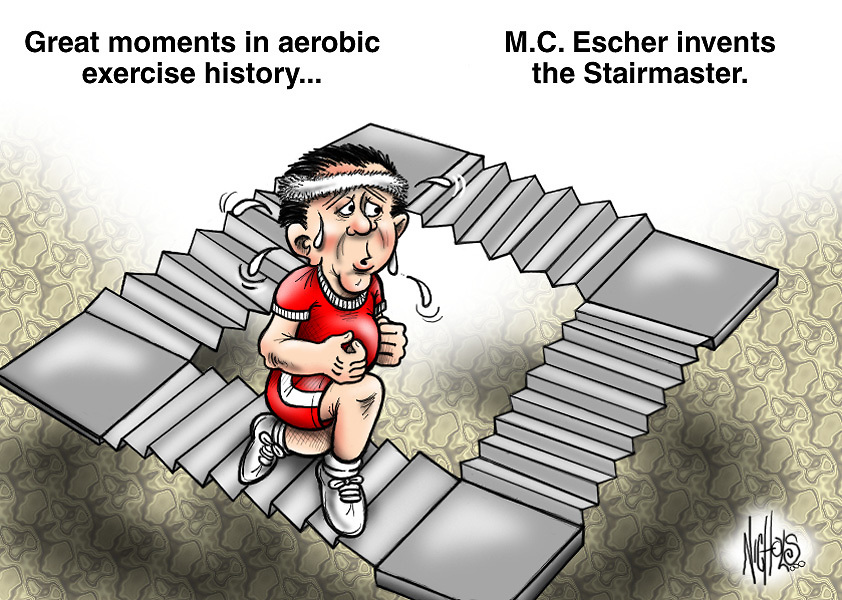 Great moments in aerobic exercise history...<br />