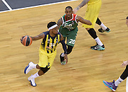 BERLINO 13 MAGGIO 2016<br /> BASKET EUROLEAGUE FINAL FOUR<br /> FENERBAHCE ISTANBUL - LABORA KUTXA VITORIA<br /> NELLA FOTO BOBBY DIXON<br /> FOTO CIAMILLO