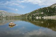 Diamond Lake in the Indian Peaks Wilderness near Nederland, CO