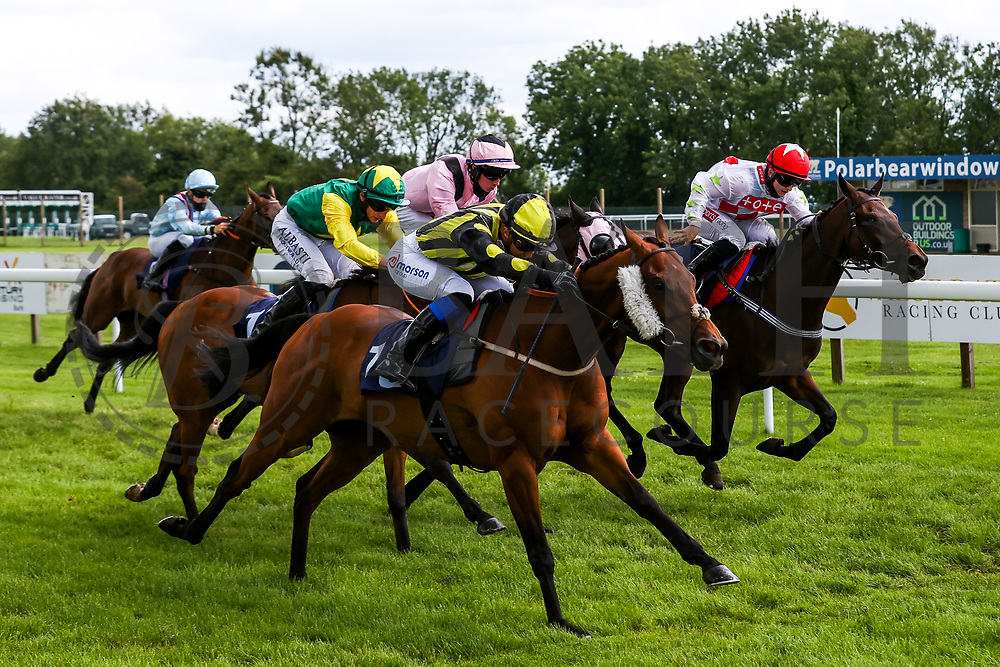 Air of York ridden by Megan Nicholls (T: Grace Harris) wins the 14:35 Home Of Winners At valuerater.co.uk Handicap (Div 1) - Rogan/JMP - 14/07/2020 - HORSE RACING - Bath Racecourse - Bath, England.