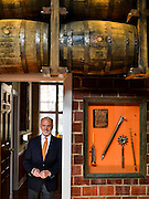 Tom Bulleit, Founder of Bulleit Distilling Co., poses for a portrait outside of his office at Stitzel Weller on Monday March 16, 2015.<br /> <br /> Photos by William DeShazer