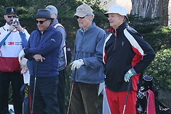 """Feb 6, 2019 Pebble Beach, Ca. USA TV, Film and singing stars that included ANDY GARCIA, CLINT EASTWOOD, BILL MURRAY whom played in the """"3M Celebrity Challenge"""" to try for part of the 100K purse to go to their favorite charity and win the Estwood-Murray cup, for which team Clint Eastwwod's group won.. The event took place during practice day of the PGA AT&T National Pro-Am golf on the Pebble Beach Golf Links. Photo by Dane Andrew c. 2019 contact: 408 744-9017  TenPressMedia@gmail.com"""