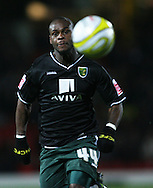 London - Wednesday, December 12th, 2008: Leroy Lita of Norwich City in action against Watford during the Coca Cola Championship match at Vicarage Road, London. (Pic by Chris Ratcliffe/Focus Images)