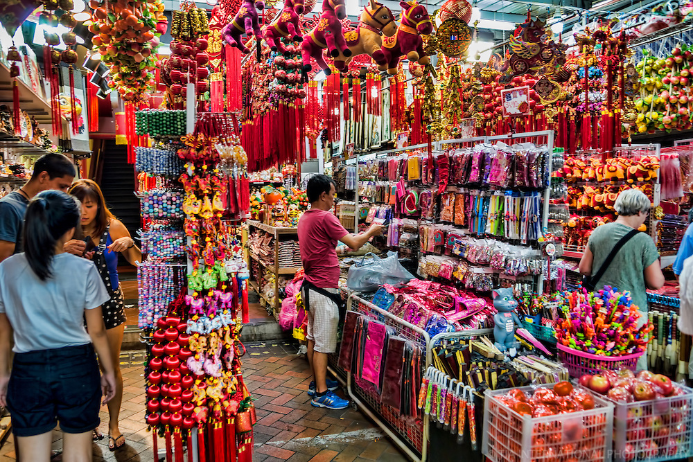 Souvenir Shop in Chinatown