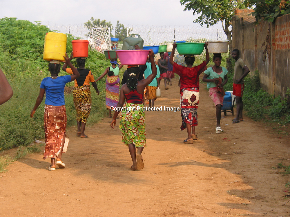 fetching water in uganda