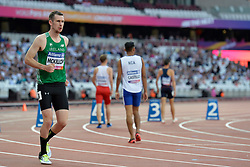 14/07/2017 : Michael McKillop, T38, 800m (Men's) Heats, at the 2017 World Para Athletics Championships, Olympic Stadium, London, United Kingdom