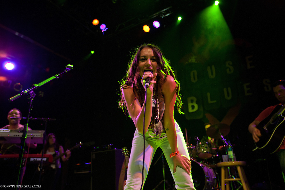 So & So perform on April 13 2011  at the House of Blues on the Sunset Strip
