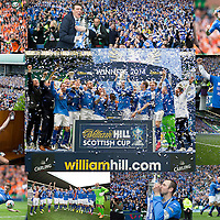 St Johnstone FC William Hill Scottish Cup Winners Montage...01.06.14<br /> <br /> Picture by Graeme Hart.<br /> Copyright Perthshire Picture Agency<br /> Tel: 01738 623350  Mobile: 07990 594431