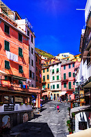 """Spring afternoon stroll in Riomaggiore""...<br />