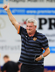 Hull City manager Steve Bruce gives a thumbs up to the fans at full time - Mandatory by-line: Matt McNulty/JMP - 19/07/2016 - FOOTBALL - One Call Stadium - Mansfield, England - Mansfield Town v Hull City - Pre-season friendly